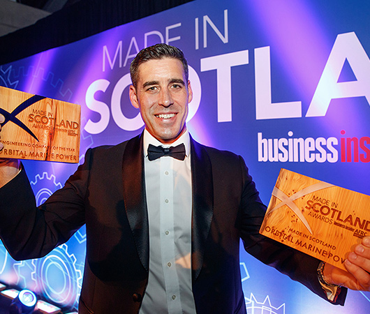Made in Scotland Award - Orbital Marine Power Limited